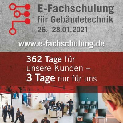 E-Fachschulung Save the Date